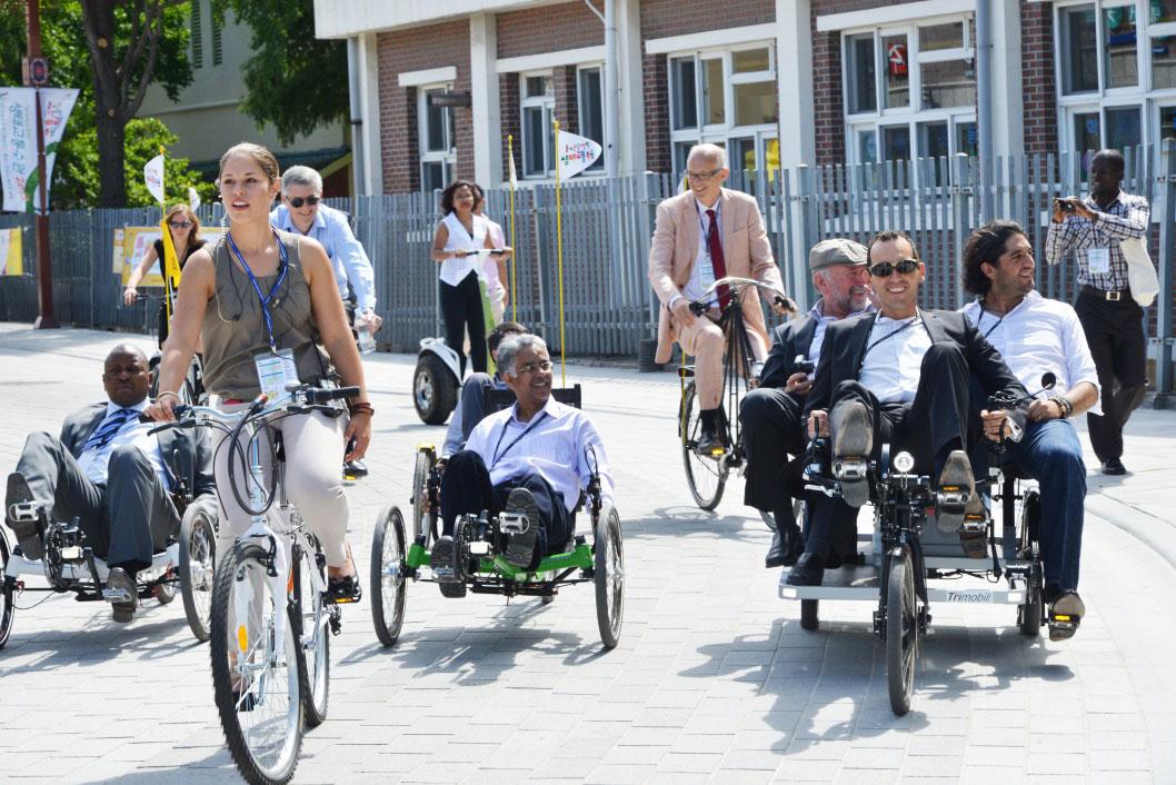 VIP ride (c) ICLEI e.V 2013